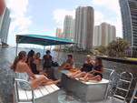 40 ft. Bulldog Pontoons 10x40 Pontoon Boat Rental Miami Image 24