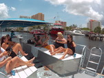 40 ft. Bulldog Pontoons 10x40 Pontoon Boat Rental Miami Image 27