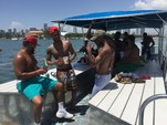 40 ft. Bulldog Pontoons 10x40 Pontoon Boat Rental Miami Image 31