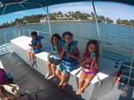 40 ft. Bulldog Pontoons 10x40 Pontoon Boat Rental Miami Image 32