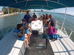40 ft. Bulldog Pontoons 10x40 Pontoon Boat Rental Miami Image 44