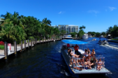 40 ft. Bulldog Pontoons 10x40 Pontoon Boat Rental Miami Image 47