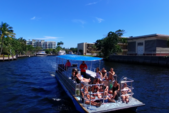 40 ft. Bulldog Pontoons 10x40 Pontoon Boat Rental Miami Image 50
