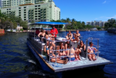 40 ft. Bulldog Pontoons 10x40 Pontoon Boat Rental Miami Image 45