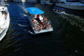 40 ft. Bulldog Pontoons 10x40 Pontoon Boat Rental Miami Image 51