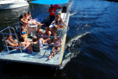 40 ft. Bulldog Pontoons 10x40 Pontoon Boat Rental Miami Image 57