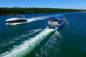 40 ft. Bulldog Pontoons 10x40 Pontoon Boat Rental Miami Image 59
