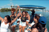 40 ft. Bulldog Pontoons 10x40 Pontoon Boat Rental Miami Image 70