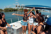 40 ft. Bulldog Pontoons 10x40 Pontoon Boat Rental Miami Image 76
