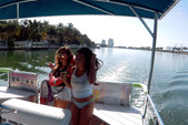 40 ft. Bulldog Pontoons 10x40 Pontoon Boat Rental Miami Image 83