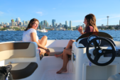 16 ft. Bayliner Element Bow Rider Boat Rental Seattle-Puget Sound Image 7