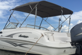23 ft. Hurricane Boats SD 237 DC Deck Boat Boat Rental Tampa Image 17