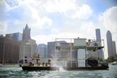 40 ft. 17x40 Custom 5 Pontoon deck boat Deck Boat Boat Rental Chicago Image 2