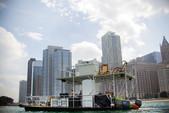 40 ft. 17x40 Custom 5 Pontoon deck boat Deck Boat Boat Rental Chicago Image 8