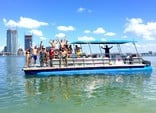 40 ft. Bulldog Pontoons 10x40 Pontoon Boat Rental Miami Image 1