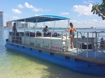 40 ft. Bulldog Pontoons 10x40 Pontoon Boat Rental Miami Image 95