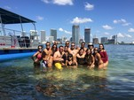 40 ft. Bulldog Pontoons 10x40 Pontoon Boat Rental Miami Image 96