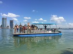 40 ft. Bulldog Pontoons 10x40 Pontoon Boat Rental Miami Image 97