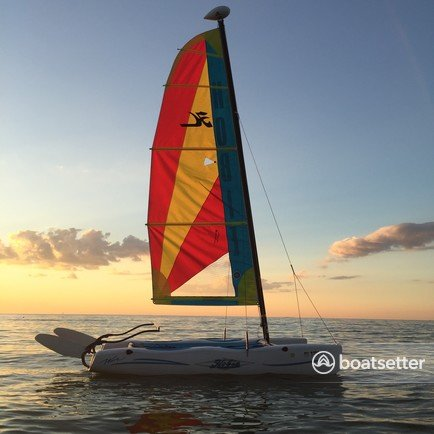 Rent a Hobie Cat Boats catamaran in Port Clinton, OH near me