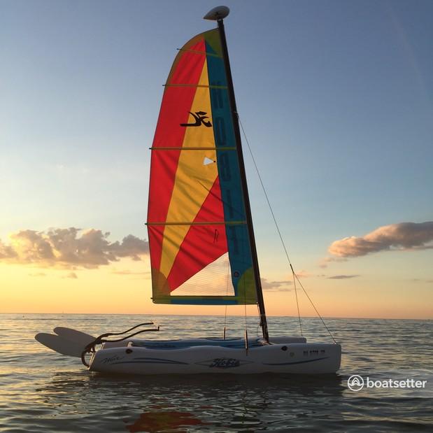 Rent a Hobie Cat Boats catamaran in Port Clinton, OH near me