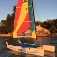 13 ft. Hobie Cat Boats Hobie Wave Catamaran Boat Rental Rest of Northeast Image 3