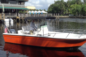 21 ft. Robalo 2120 Center Console w/225HP Merc Center Console Boat Rental Miami Image 7