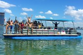 40 ft. Bulldog Pontoons 10x40 Pontoon Boat Rental Miami Image 99