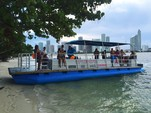 40 ft. Bulldog Pontoons 10x40 Pontoon Boat Rental Miami Image 101