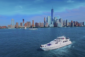 97 ft. Guy Couach Mega Yacht Boat Rental New York Image 1