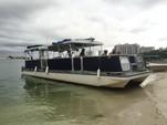 40 ft. Corinthian Pontoon Pontoon Boat Rental Miami Image 4