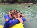 40 ft. Corinthian Pontoon Pontoon Boat Rental Miami Image 10