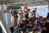 40 ft. Corinthian Pontoon Pontoon Boat Rental Miami Image 12
