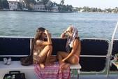40 ft. Corinthian Pontoon Pontoon Boat Rental Miami Image 13