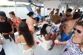 40 ft. Corinthian Pontoon Pontoon Boat Rental Miami Image 19