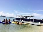 40 ft. Corinthian Pontoon Pontoon Boat Rental Miami Image 20