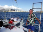 42 ft. Jim Brown Searunner Trimaran Boat Rental Hawaii Image 3
