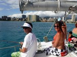 42 ft. Jim Brown Searunner Trimaran Boat Rental Hawaii Image 5