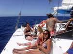 42 ft. Jim Brown Searunner Trimaran Boat Rental Hawaii Image 8