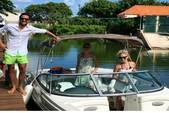 24 ft. Rinker Boats 226 Captiva Bowrider Bow Rider Boat Rental Bacalar Image 1