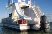 30 ft. Allmand 31 Pontoon Boat Rental The Keys Image 1