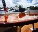 60 ft. Navigator Rival Flybridge Boat Rental Miami Image 19
