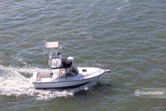 Rent a Shamrock Boats saltwater fishing in Somers Point, NJ near me