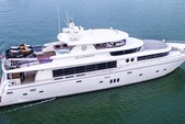 103 ft. Johnson Boats 103 Motor Yacht Boat Rental Miami Image 1