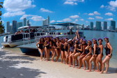 40 ft. Bulldog Pontoons 10x40 Pontoon Boat Rental Miami Image 72