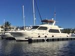 60 ft. Navigator Rival Flybridge Boat Rental Miami Image 4