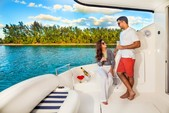42 ft. Meridian Yachts 391 Sedan Motor Yacht Boat Rental Miami Image 3