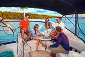 42 ft. Meridian Yachts 391 Sedan Motor Yacht Boat Rental Miami Image 4