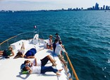 69 ft. Chris Craft 68 Roamer Motor Yacht Boat Rental Chicago Image 14