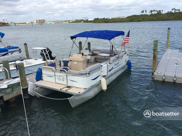 Rent a Godfrey Marine pontoon in New Smyrna Beach, FL near me