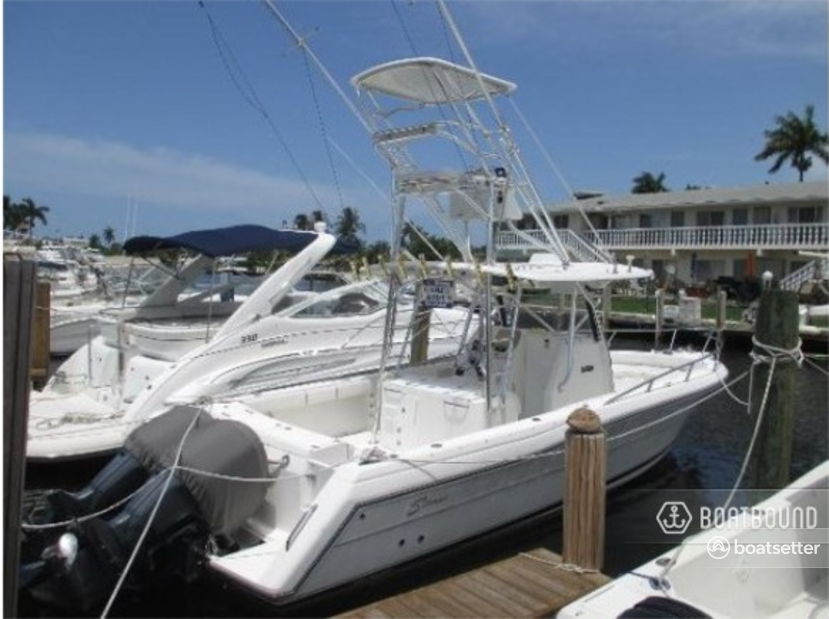 Rent a Stamas Yachts center console in Miami, FL near me